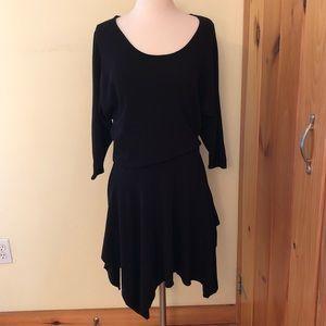 Free People Beach Black Dress